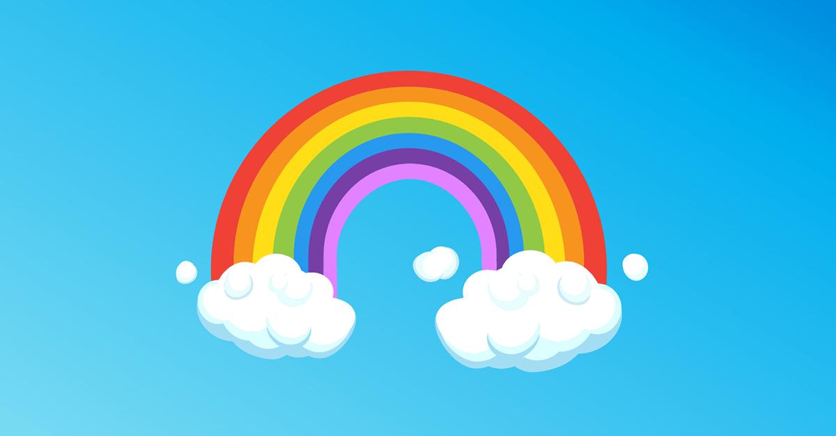 De dónde viene el arcoíris - Historia de la Vida