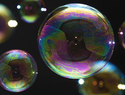Por qué son redondas las burbujas
