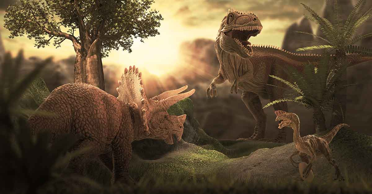 ¿Cómo saben los científicos cómo son los dinosaurios?