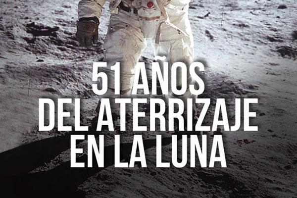 51 años del aterrizaje en la luna